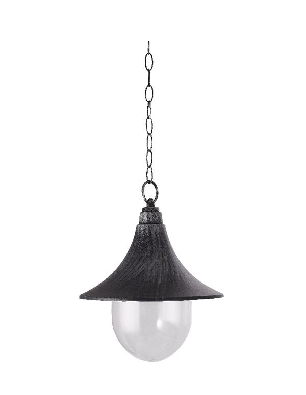 גוף תאורה מעוצב פנס דייגים תלוי שחור