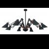 נברשת דגם טרנטולה 8 קנים שחור