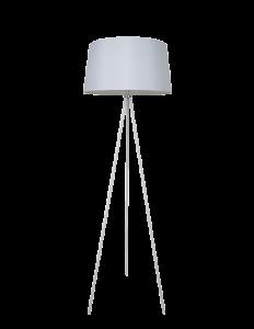 מנורת רצפה מעוצבת דגם מורן גדול בצבע לבן