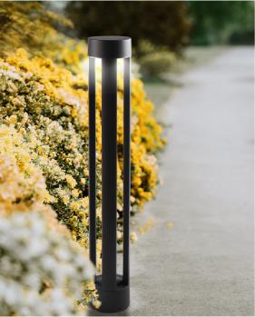 עמודי תאורה לגינה