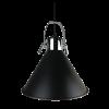 מנורת תלייה מעוצבת סאלי בצבע שחור