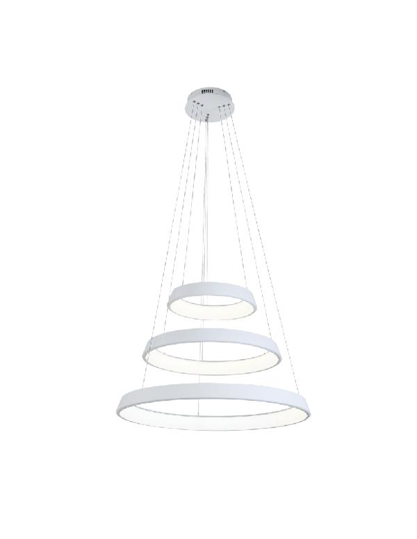 גוף תאורה תלוי דגם רינג 3 טבעות